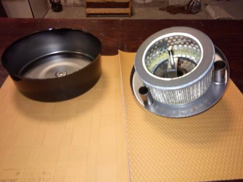filtro completo para cabezales de compresor