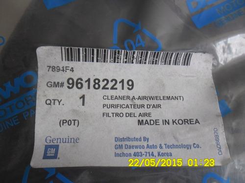 filtro con carcasa de daewo lanos original koreano