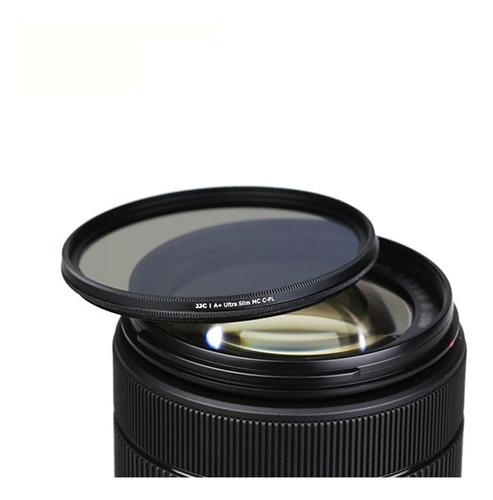 filtro cpl polarizado 58mm para lentes nikon/canon jjc
