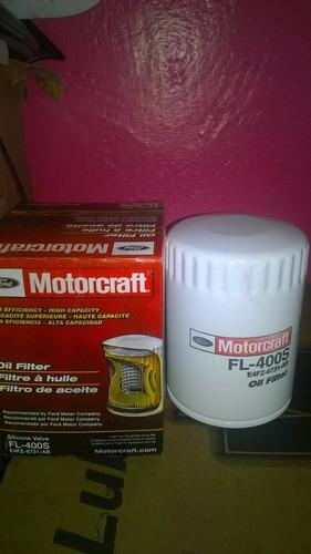 filtro d aceite motorcraft fl 400s fiesta power, max,sco, ka