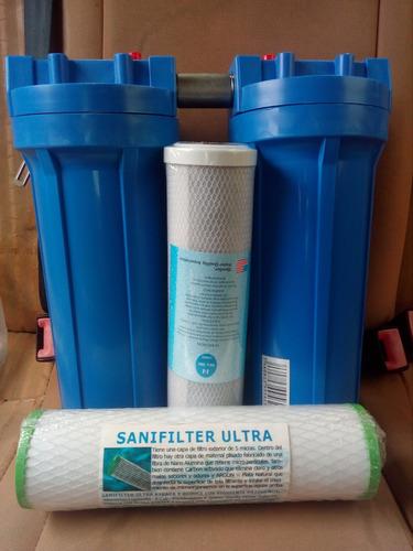 filtro da agua para su casa - elimina sucio y malos olores