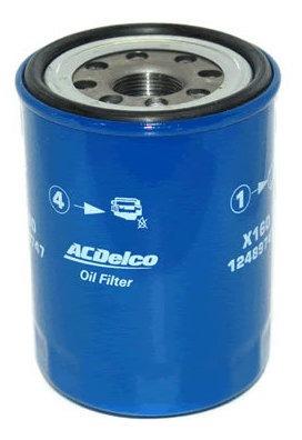 filtro de aceite   acdelco isuzu trooper 3.1 l diesel 2001-2