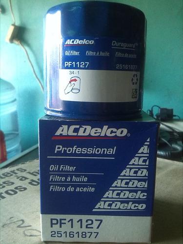 filtro de aceite acdelco pf1127 accente/tucson/honda