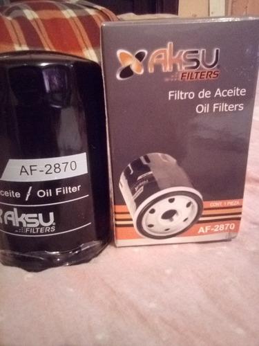 filtro de aceite af-2870