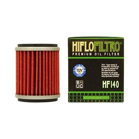 filtro de aceite atv yamaha raptor 250 hiflofiltro hf 140