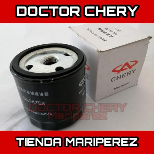 filtro de aceite chery arauca x1 qq6 original tienda ccs