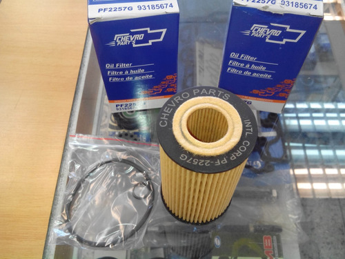 filtro de aceite chevrolet cruze original chevro parts
