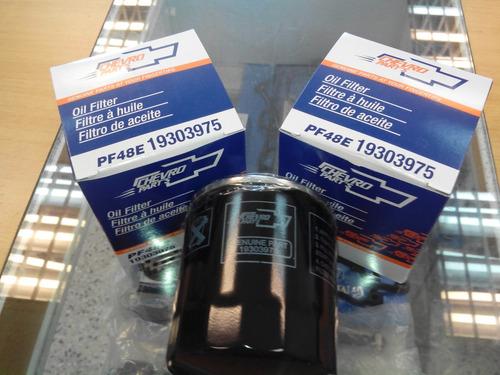 filtro de aceite chevrolet silverado/tahoe/ avalanche 5.3