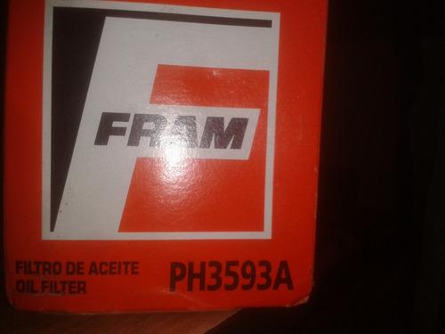 filtro de aceite fram # ph3593a