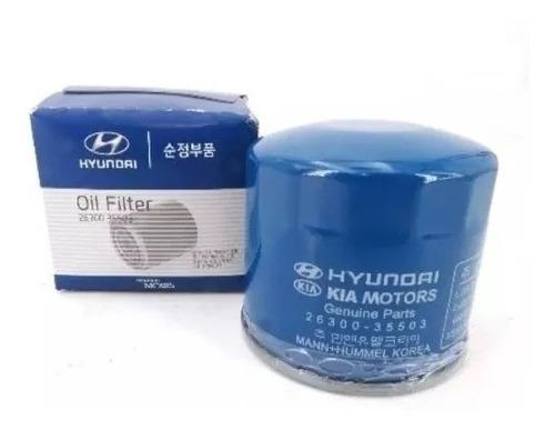 filtro de aceite hyundai accent tucson elantra getz 35503