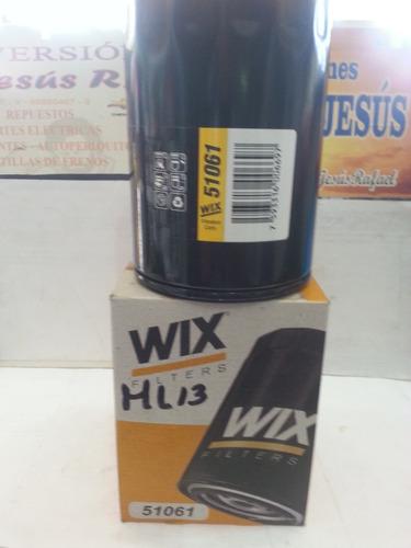 filtro de aceite marca wix 51061.  (millar ml-13)