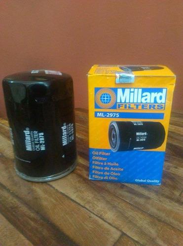 filtro de aceite millard ml-2975 para npr/ c-30 / encanva