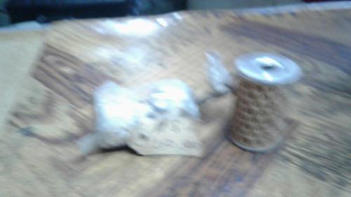 filtro de aceite moto nsu 250 y 300cc modelo 60 orginal