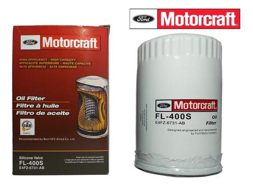 filtro de aceite motor craft fl-400s fiesta move max x6 unid