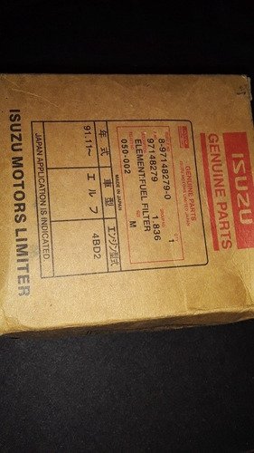 filtro de aceite npz isuzu 7$