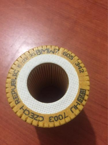 filtro de aceite nuevo marca original bmw, 100% garantizado