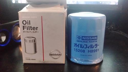 filtro de aceite original nissan  sentra, sunny almera