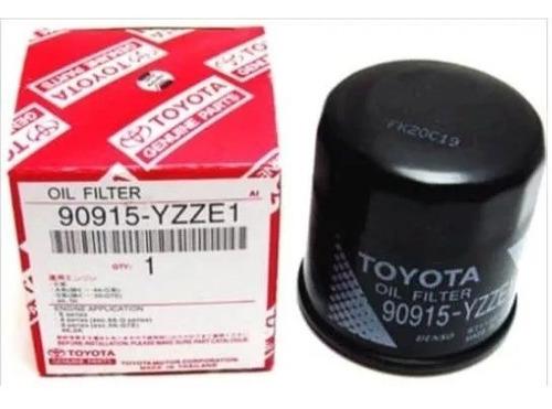 filtro de aceite toyota yaris, corolla, terios (90915-yzze1)