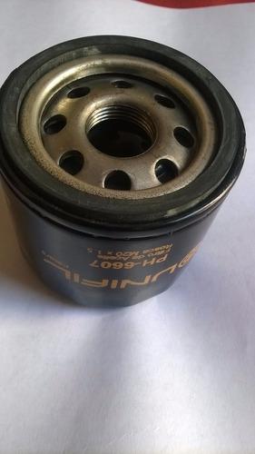 filtro de aceite unifil ph-6607 rosca m20×1.5
