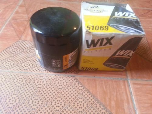 filtro de aceite wix  51069 para chevrolet