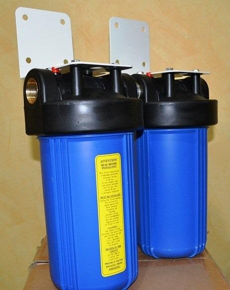 Filtro de agua 2 etapas 4x10 para casa oficina o negocio for Filtro agua casa