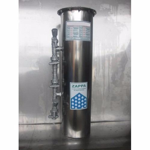 Filtro de gua central inox residencial z180 r em mercado livre - Filtros para grifos de agua ...