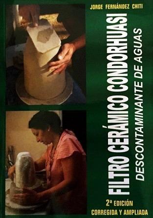 filtro de agua ceramico descontaminante casero - libro chiti