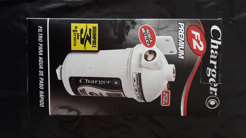 filtro de agua charger f2