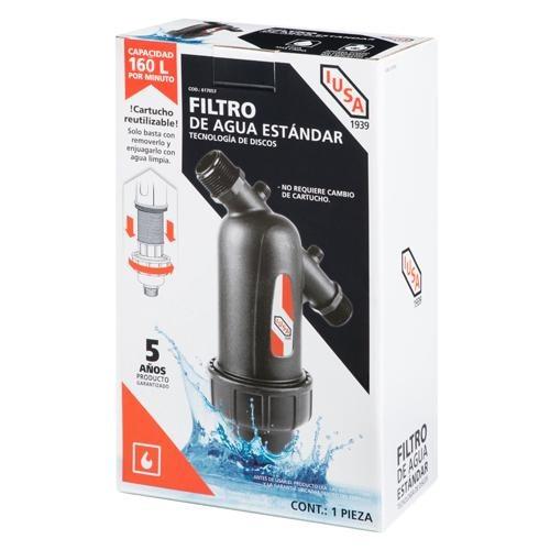 filtro de agua con tecnología de discos 160 l/min