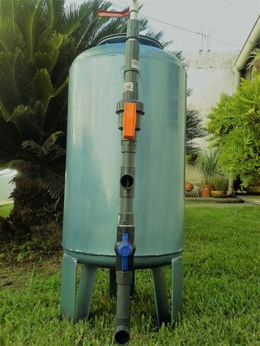 filtro de agua desbarrador para toda la casa