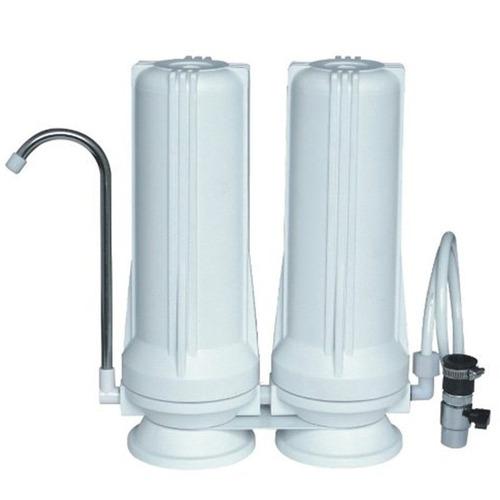filtro de agua doble kassel- ks-fa2 1 año de garantia