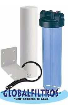 filtro de água entrada e saída cisterna poço caipira cacimba