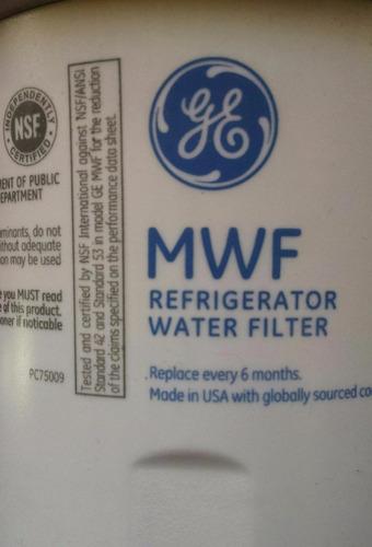 filtro de agua general electric side by side