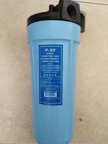 filtro de agua geyser p-50 ozono tanques nevera.