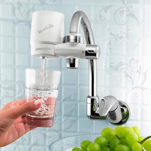 filtro de agua instala na torneira da cozinha parede ou mesa