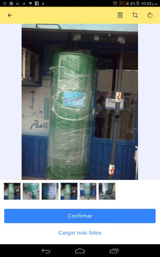 filtro de agua llenar botellones industrial