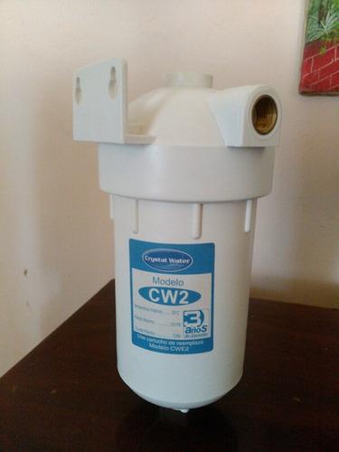 filtro de agua marca crysta water modelo cw2