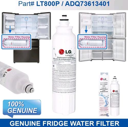 filtro de agua nevera nevecon lg lt800p adq73613401