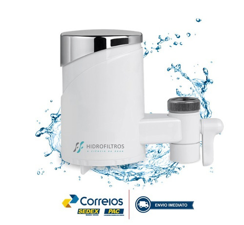 filtro de água p/ torneira - portatil - hfiltro cert inmetro