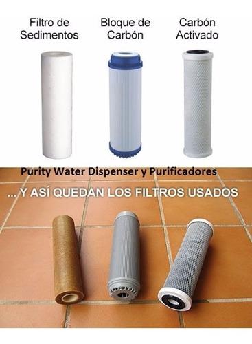 filtro de agua para sedimentos polipropileno x 25 unid