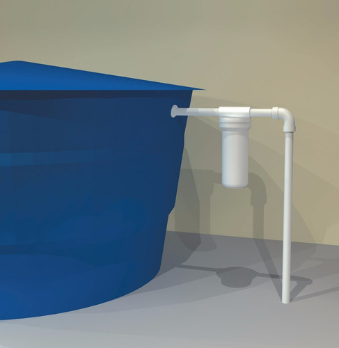 filtro de água ponto entrada loren acqua 9 3/4   lorenzetti