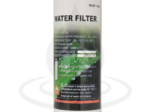 filtro de agua universal paso rápido de nevera