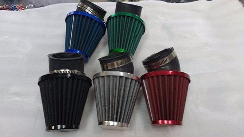 filtro de aire alto flujo rad 48mm motos