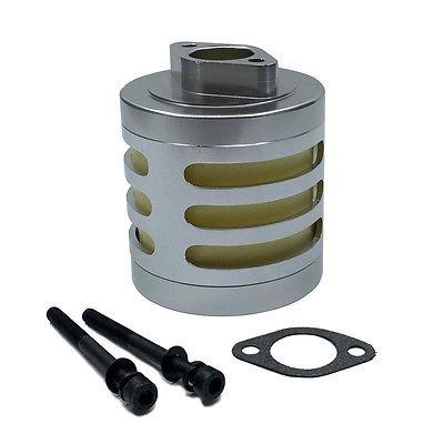 filtro de aire aluminio kit silver 1/5 motor rc hpi baja
