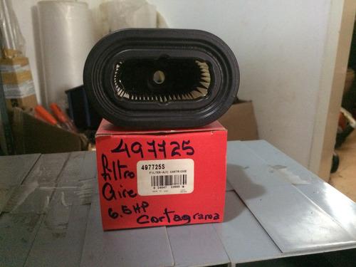 filtro de aire briggs & stratton p/corta grama 6.5 hp