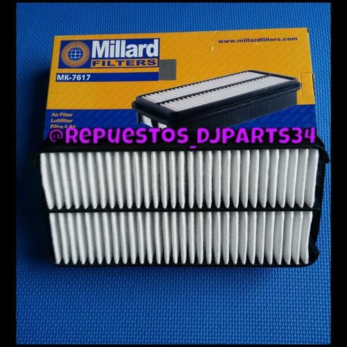 filtro de aire chevrolet vitara sidekick 92/00 1.6