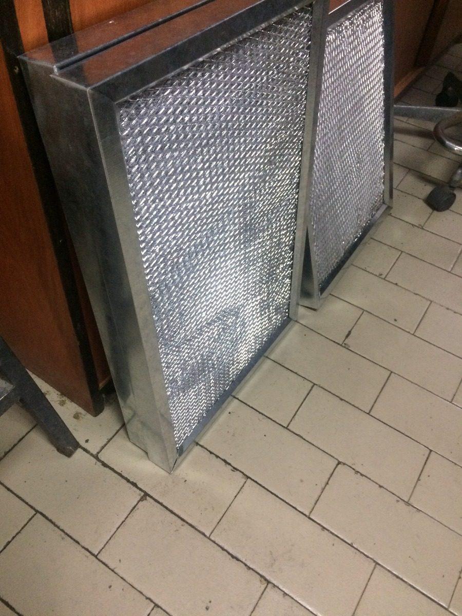 Filtro De Aire De Aluminio 24 X16 X2 . Con Marco Galvanizado - Bs ...