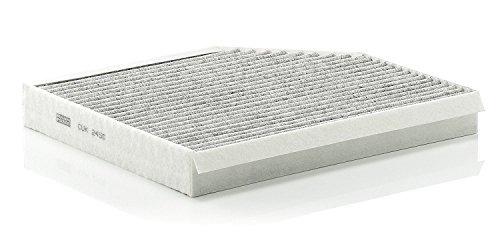 filtro de aire de cabina mann filter cuk 2450 (paquete de 2)