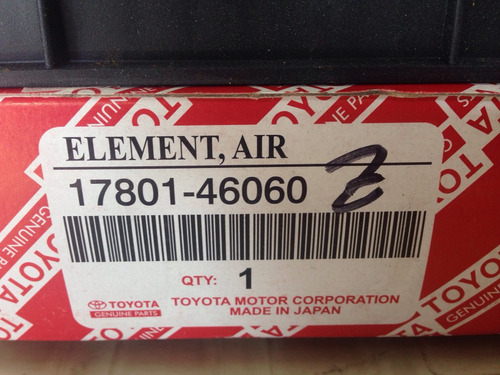 filtro de aire de motor toyota runner 1995-2002 original