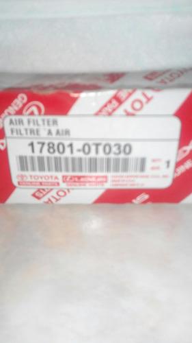 filtro de aire de motor yaris 02-12/ corolla 09-14 toyota